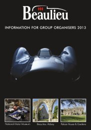 to download our 2013 brochure - Beaulieu