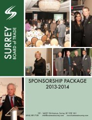 To view our 2013-2014 Sponsorship Package, please click here.