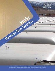Remote Site Division Overview - SEI Industries Ltd.