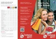 Broschüre airberlin & NIKI Visa Card
