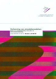Verkenning van simulatiemodellen: Brand- en ... - NIFV