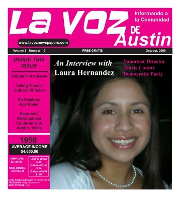 La Voz de Austin October 2008 printer.pmd - La Voz Newspapers