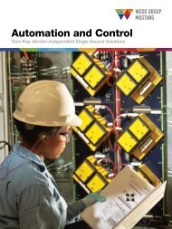 Automation and Control - Mustang Engineering Inc.