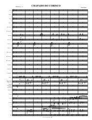 chapada do corisco - 4hns orch.mus - Jazz Charts