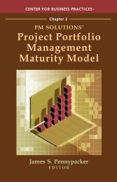 Project Portfolio Management Maturity Model