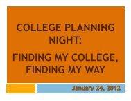 College Planning for Juniors