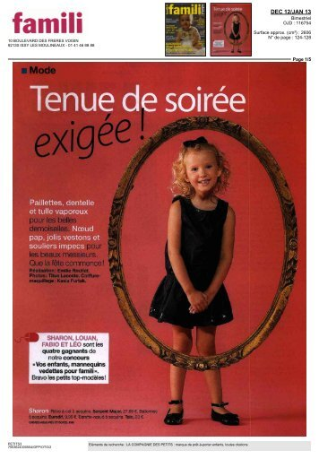 Famili Décembre 20122012-12-01 00:00:00 - La Compagnie des ...