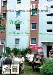 Mitgliederzeitung 10.01 - Wohnungsgenossenschaft Finsterwalde eG