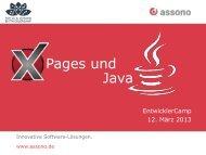 XPages und Java - EntwicklerCamp