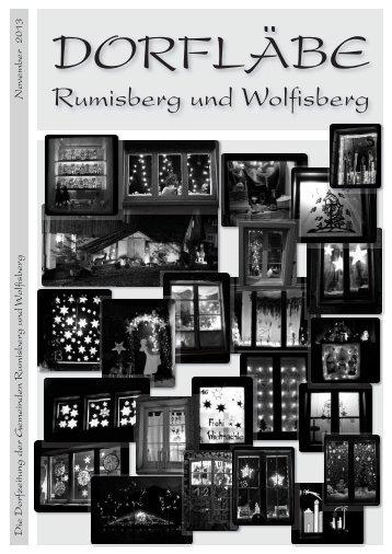 Dorfläbe lesen - Wolfisberg