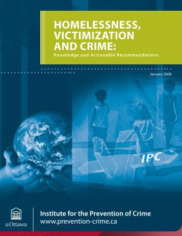 Homelessness, Victimization and Crime - Faculty of Social Sciences ...