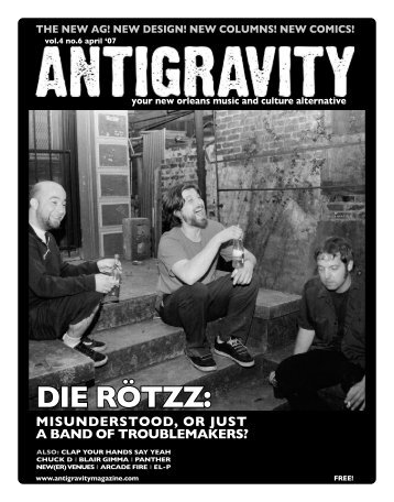 April 2007 (PDF) - Antigravity Magazine