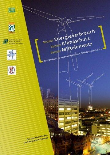Energieverbrauch Klimaschutz Mitteleinsatz