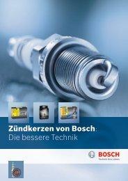 Zündkerzen von Bosch: Die bessere Technik - Bosch - Werkstattportal