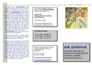 Flyer 2009 Teil 2 - Kölnische Gesellschaft für christlich-jüdische ...