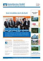 Gute Immobilien durch die Bank! - ImmoService GmbH VR-Banken ...