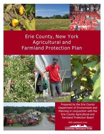 Erie County, New York Agricultural and Farmland Protection Plan