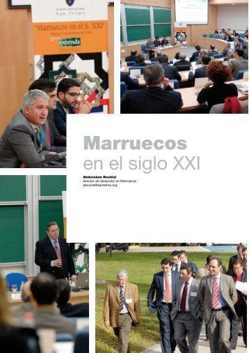Marruecos en el siglo XXI - Instituto Internacional San Telmo