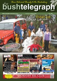 14th March 2013 - The Bush Telegraph Weekly