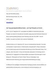 Pressemitteilung - Prof. Dr. Hans-Gert Gräbe
