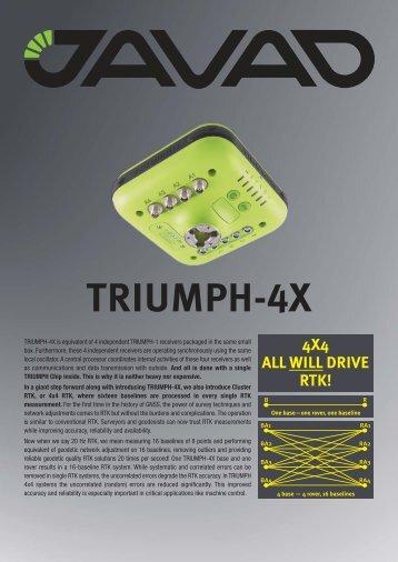 TRIUMPH-4X