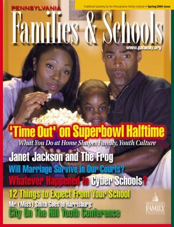 Published Quarterly by the Pennsylvania Family Institute • Spring ...