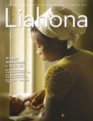 Februar 2013 Liahona - The Church of Jesus Christ of Latter-day ...