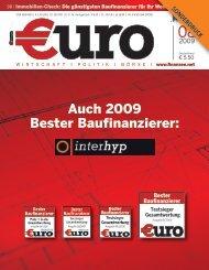 Auch 2009 Bester Baufinanzierer: - Interhyp