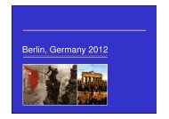 Berlin, Germany 2012 - Woking High School