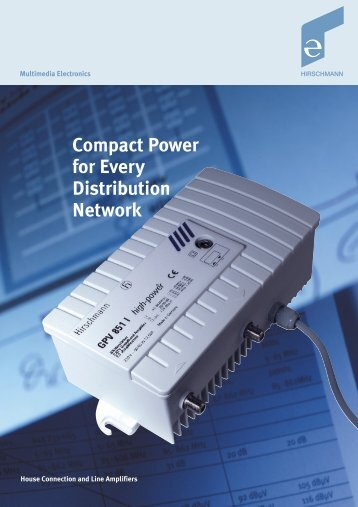 Compact Power for Every Distribution Network - Instalsat