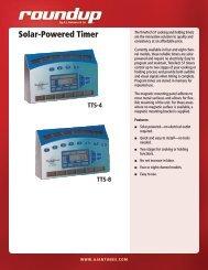Solar-Powered Timer