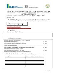 Application Form For Change of Ownership - WBSEDCL