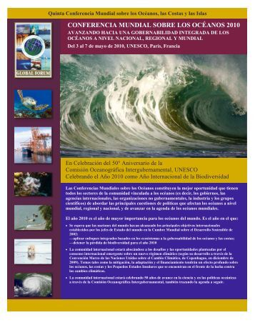 conferencia mundial sobre los océanos 2010 - Global Ocean Forum