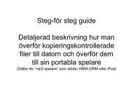 Här kan du ladda hem instruktioner i PDF-format. - Norstedts