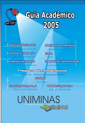 Guia Acadêmico 2005/2 - Si.lopesgazzani.com.br