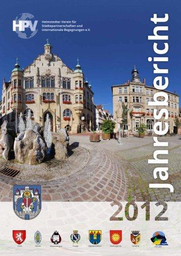Download Jahresbericht - Helmstedter Partnerschaftsverein