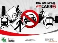 dia mundial sem carro 2012 - Rede Nossa São Paulo
