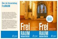 FreiRAUM - magni-kirche.de