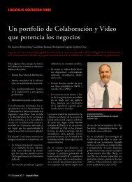 Un portfolio de Colaboración y Video que potencia los ... - Logicalis