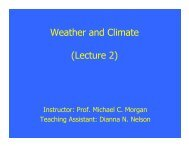 Weather and Climate (Lecture 2)