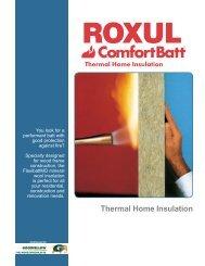 Technical Sheet ComfortBatt - Goodfellow Inc.