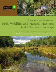 Conservation Status of Fish, Wildlife, and Natural Habitats in the ...