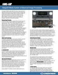 Spec Sheet: AMS-AIP - CE Pro
