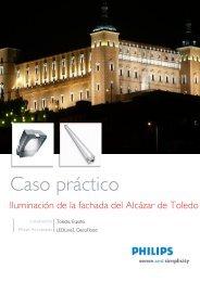 Caso práctico Alcazar de Toledo - Philips Lighting