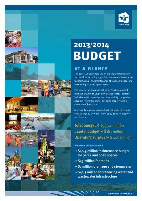 budget - Townsville City Council