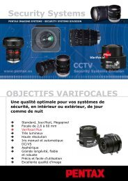 Security Systems - Pentax