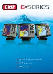 G•COMBO GPS Chartplotter / Digital Fishfinder G•PLOT GPS ... - GME