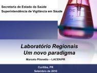 Um novo paradigma - Laboratório Central do Estado do Paraná ...