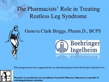 The Pharmacists - Free CE Continuing Education online pharmacy ...