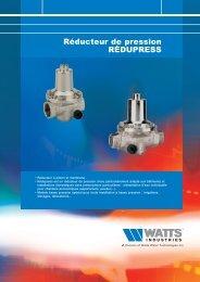 Réducteur de pression RÉDUPRESS - Watts Industries